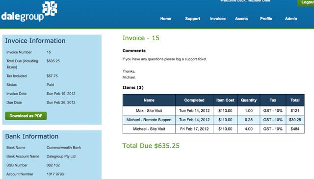 Invoicing IPM3.0