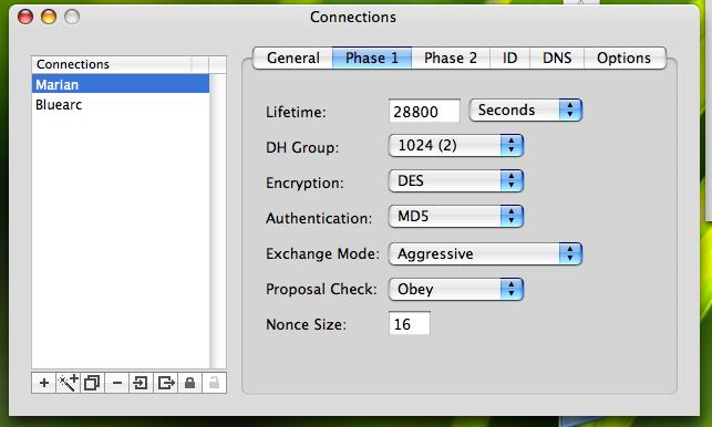 IPsecuritas to Netscreen 2