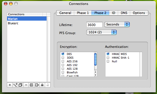 IPsecuritas to Netscreen 3