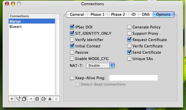 IPsecuritas to Netscreen 5