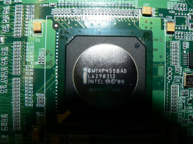 Inside an SSG 5 cpu
