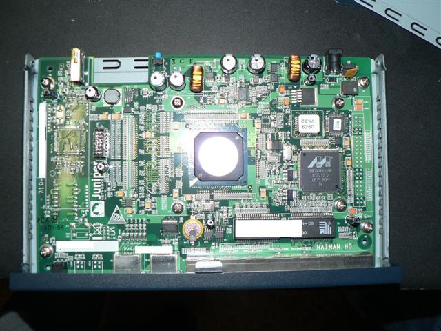 Inside an SSG 5 motherboard